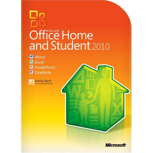 Microsoft Office Home & Student 2010, Traditional Disc