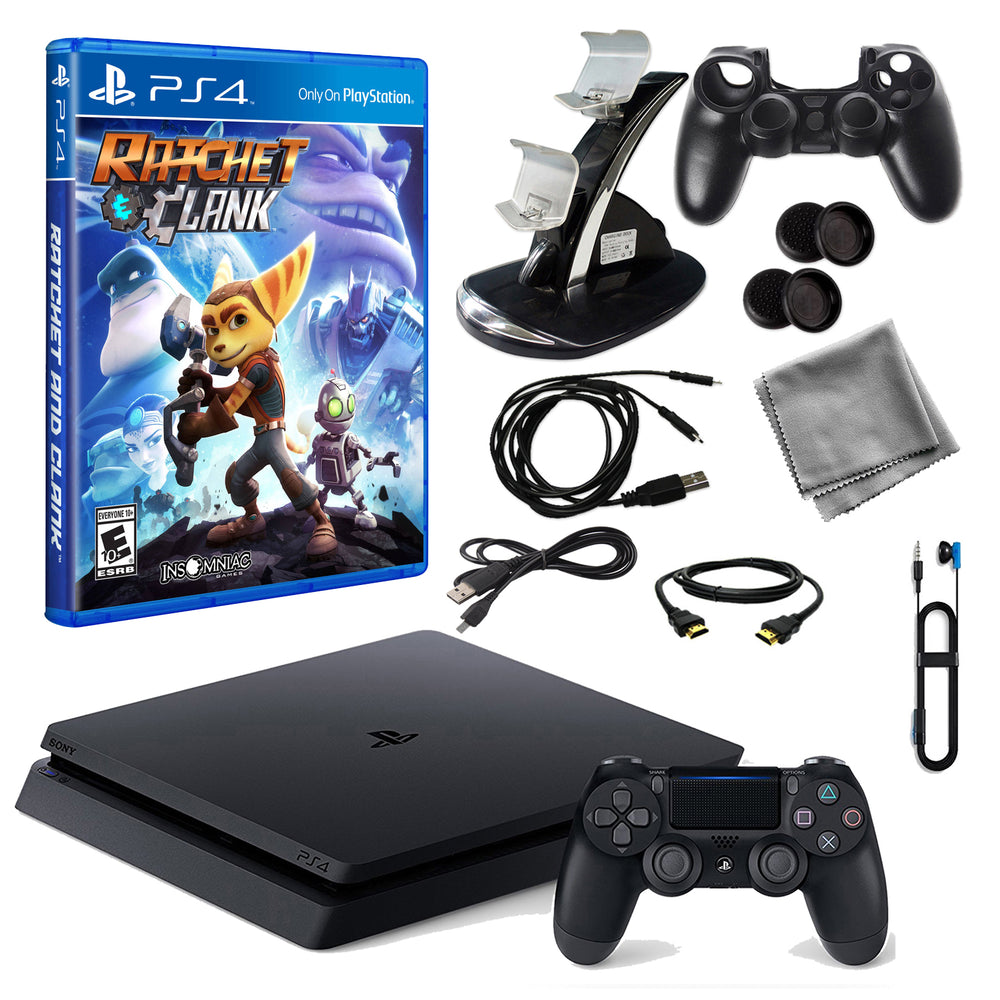 PlayStation 4 1 TB Core Console with Ratchet and Clank and Accessories Kit