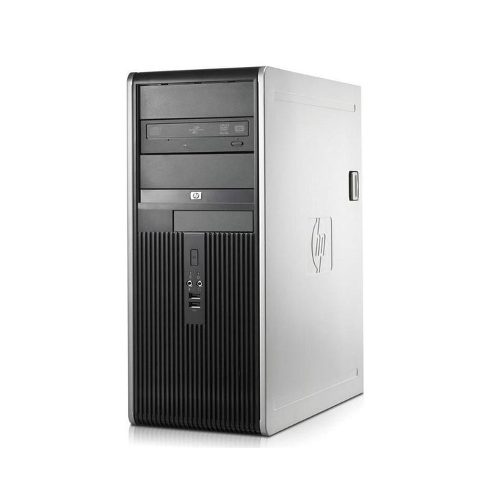"HP Desktop Computer Bundle Tower PC Core 2 Duo Processor 4GB RAM 160GB Hard Drive DVD-RW Wifi with Windows 10 and a 19"" LCD Monitor-Refurbished Computer with 1 Year Warranty!"
