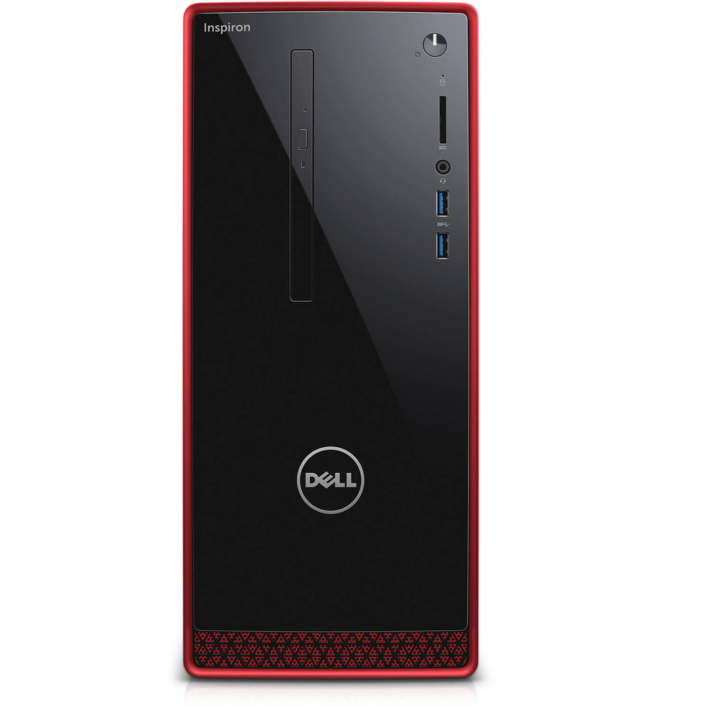 Dell Inspiron Desktop, AMD a10-8700p, 3.2GHZ, AMD Radeon R9 360 2GB DDR5 Graphic Card, 8GB DDR3L Memory, 2TB HD, Windows 10 Home, i3656-3355BLK