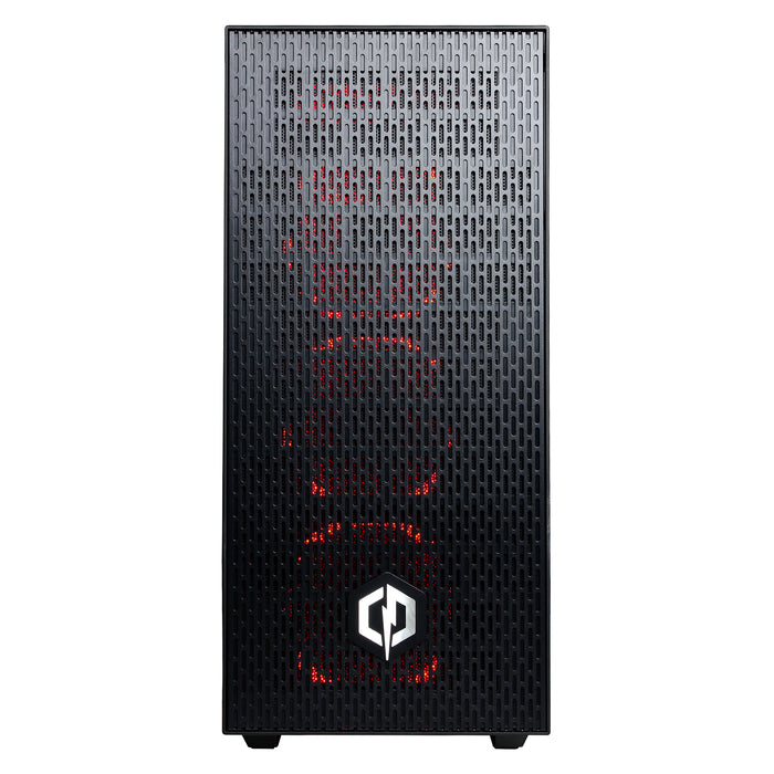 CYBERPOWERPC Gamer Master GMA6600CPG Gaming Desktop - AMD Ryzen 5 2400G with Radeon RX Vega 11 Processor Graphics, 16GB Memory, 2TB Hard Drive, WiFi and Windows 10 Home 64-Bit