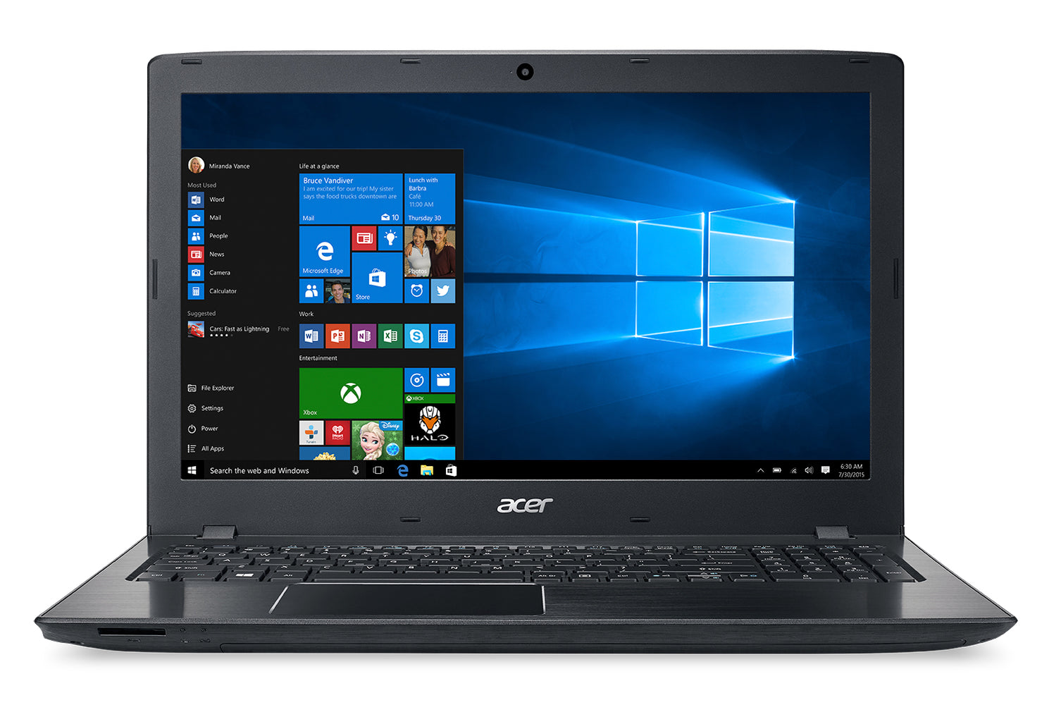 "Acer Aspire E5-575-72N3, 15.6"" Full HD, 7th Gen Intel Core i7-7500U, 8GB DDR4, 1TB HDD, Windows 10 Home"