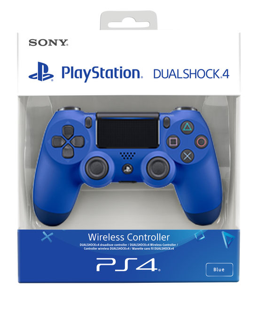 Sony PlayStation DualShock 4 Wireless Controller - Blue Wave