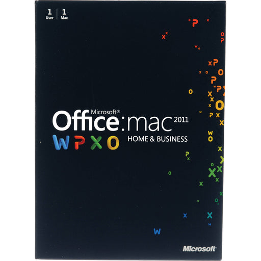 Microsoft Office Home & Business 2011 for Mac - Key Card (1PC/1User)