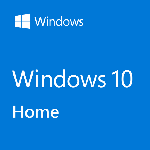 Microsoft Windows 10 Home 64-bit (OEM Software)