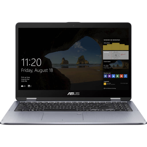 "Asus VivoBook Flip TP510UA 15.6"" Core i7-8550U 1920 x 1080 Multi-Touch 2-in-1 Notebook"