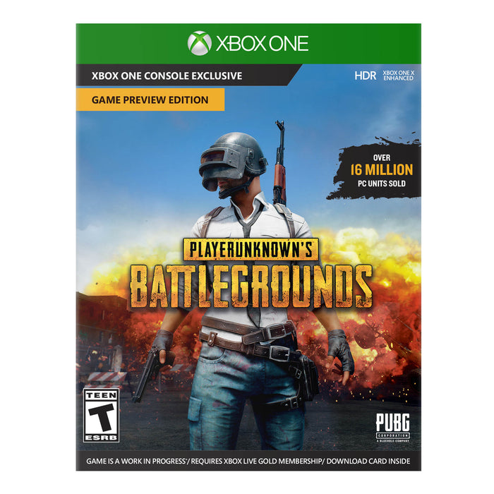 Microsoft Xbox One X PLAYERUNKNOWN'S BATTLEGROUNDS Bundle, Black, CYV-00026
