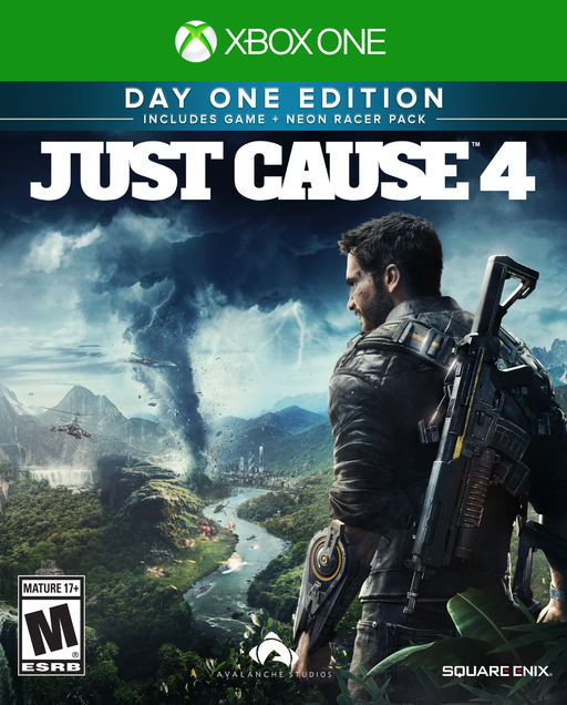 Just Cause 4 Day One Limited Edition, Square Enix Xbox One, 662248921693