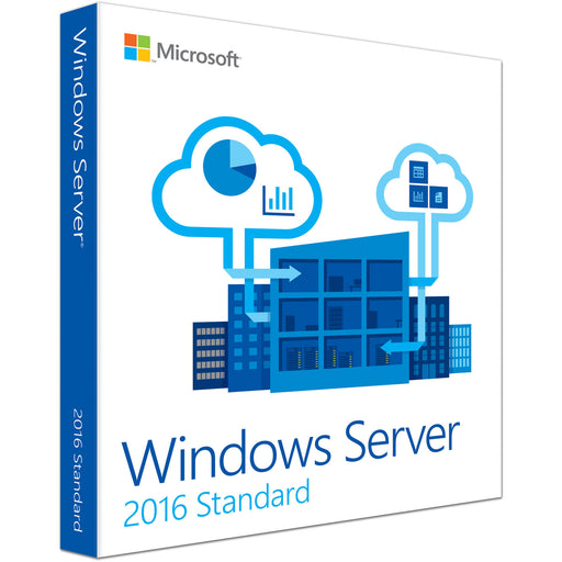 Microsoft Windows Server 2016 Standard - 1 Additional License, 4 Core (CAL)