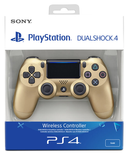 Sony PlayStation DualShock 4 Wireless Controller - Gold