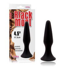 Load image into Gallery viewer, Butt Plug 12.5 x 3.1 cm Silicone Black