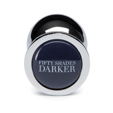 Load image into Gallery viewer, Fifty Shades Darker Beyond Erotic Steel Butt Plug