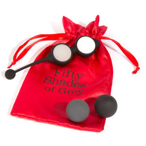 Fifty Shades of Grey Beyond Aroused Kegel Balls Set Black