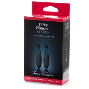Fifty Shades of Grey Sweet Torture Vibrating Nipple Stimulators