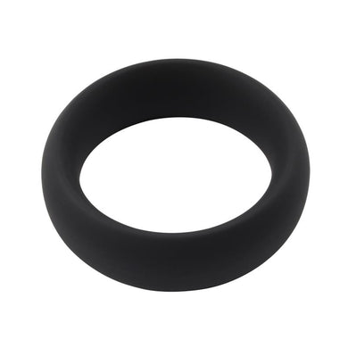 Infinity Silicone Ring L Black