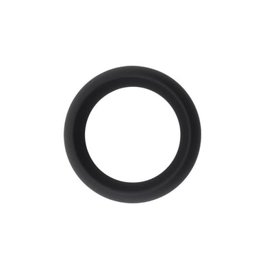 Infinity Silicone Ring M Black