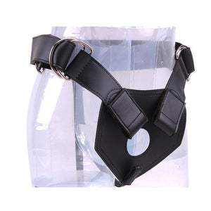 Luxe Harness Silicone Black