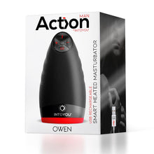 Load image into Gallery viewer, Owen + Toy Cleaner Nanami Male Masturbator with Vibration and Heat USB