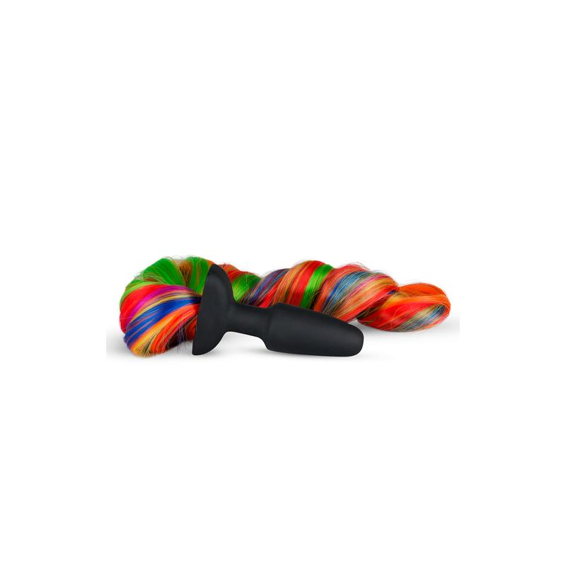 Silicone Butt Plug With Tail