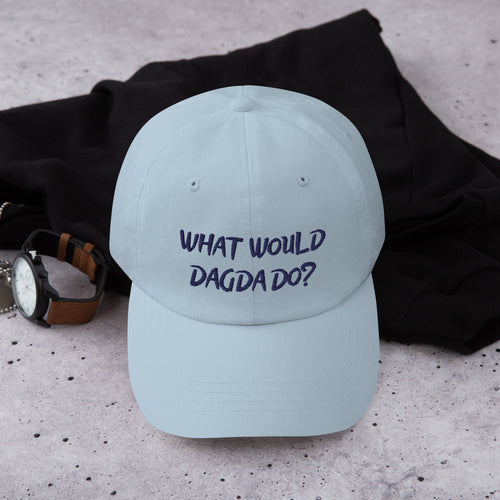 What Would Dagda Do?... Dag-Dad Hat | White, Light Blue or Khaki - Eel & Otter