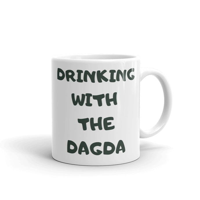 Drinking with the Dagda - Double Print Mug (Not a Cauldron, Sorry!) - Eel & Otter