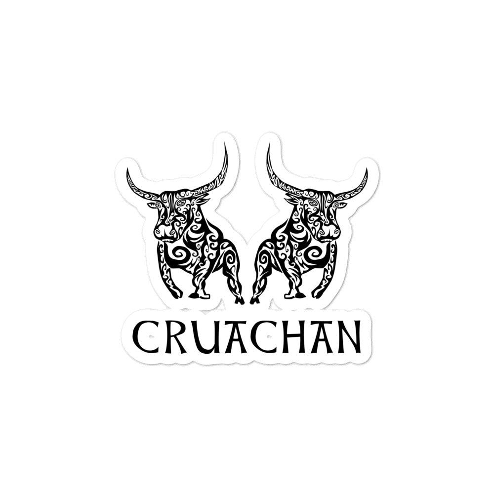 Bulls of Cruachan - Bubble-free Stickers - Eel & Otter