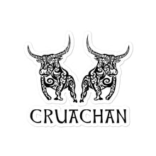 Load image into Gallery viewer, Bulls of Cruachan - Bubble-free Stickers - Eel & Otter