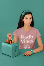 Load image into Gallery viewer, Badb Vibes - Short-Sleeve Unisex T-Shirt - Mauve, Steel Blue, Ash - Eel & Otter