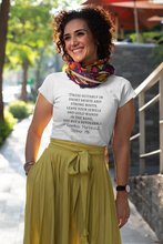 "Load image into Gallery viewer, Countess Markievicz- ""short skirts and strong boots""- October 1915 Short-Sleeve Unisex T-Shirt Kelly green, Pink, Silver - Eel & Otter"