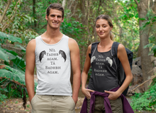 Load image into Gallery viewer, The Badb, Badhbh - Black - Unisex Tank Top - Eel & Otter