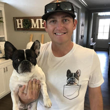 Load image into Gallery viewer, Custom Pet Pocket T-Shirt