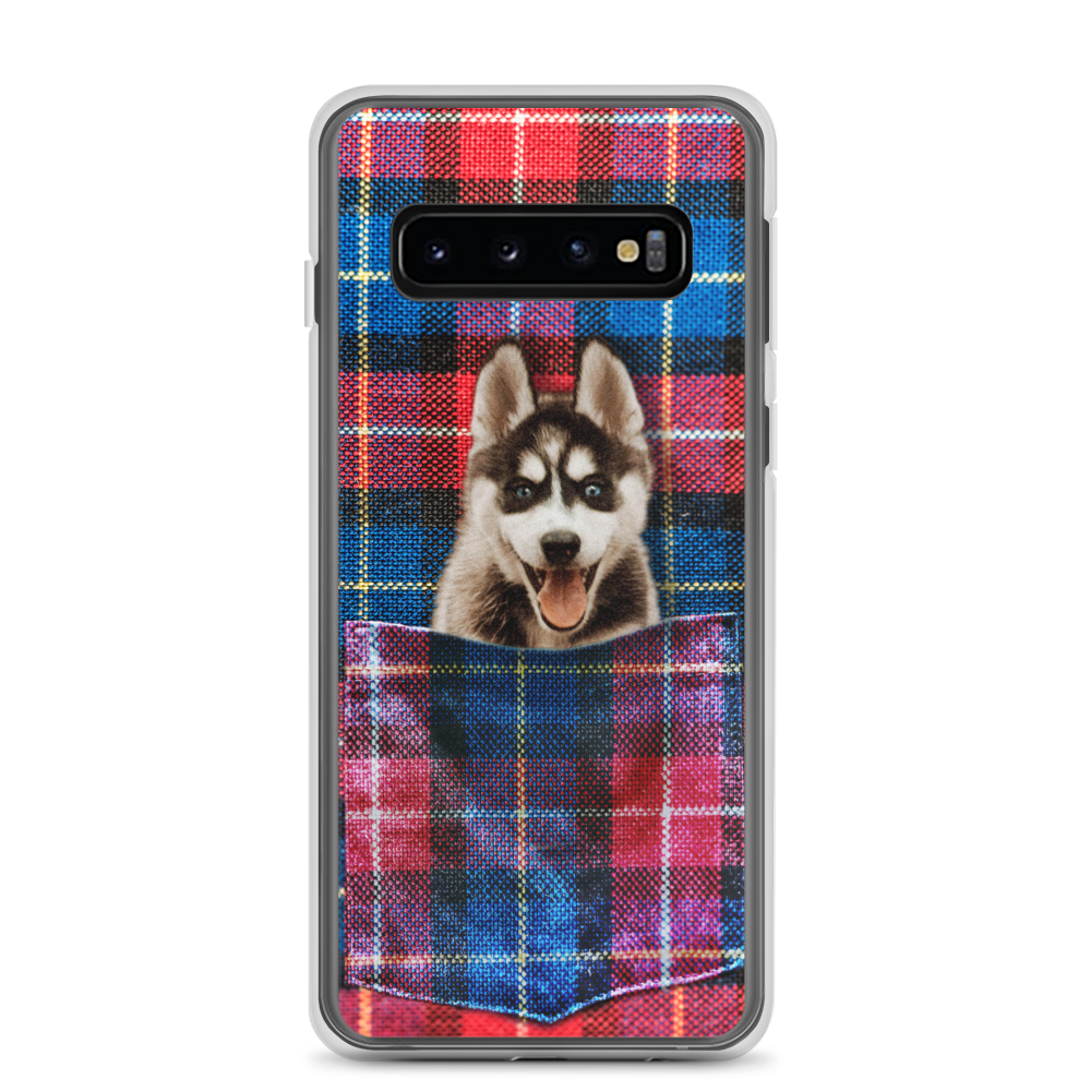 Red and Blue Plaid - Custom Samsung Case