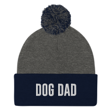 Load image into Gallery viewer, Dog Dad Pom-Pom Beanie
