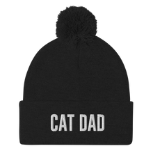 Load image into Gallery viewer, Cat Dad Pom-Pom Beanie