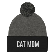 Load image into Gallery viewer, Cat Mom Pom-Pom Beanie