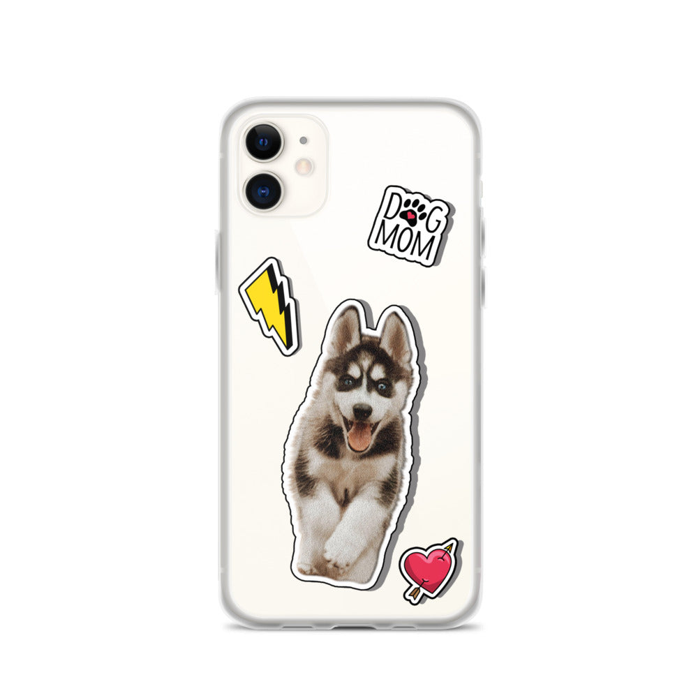 Dog Mom  - Custom Pet iPhone Case