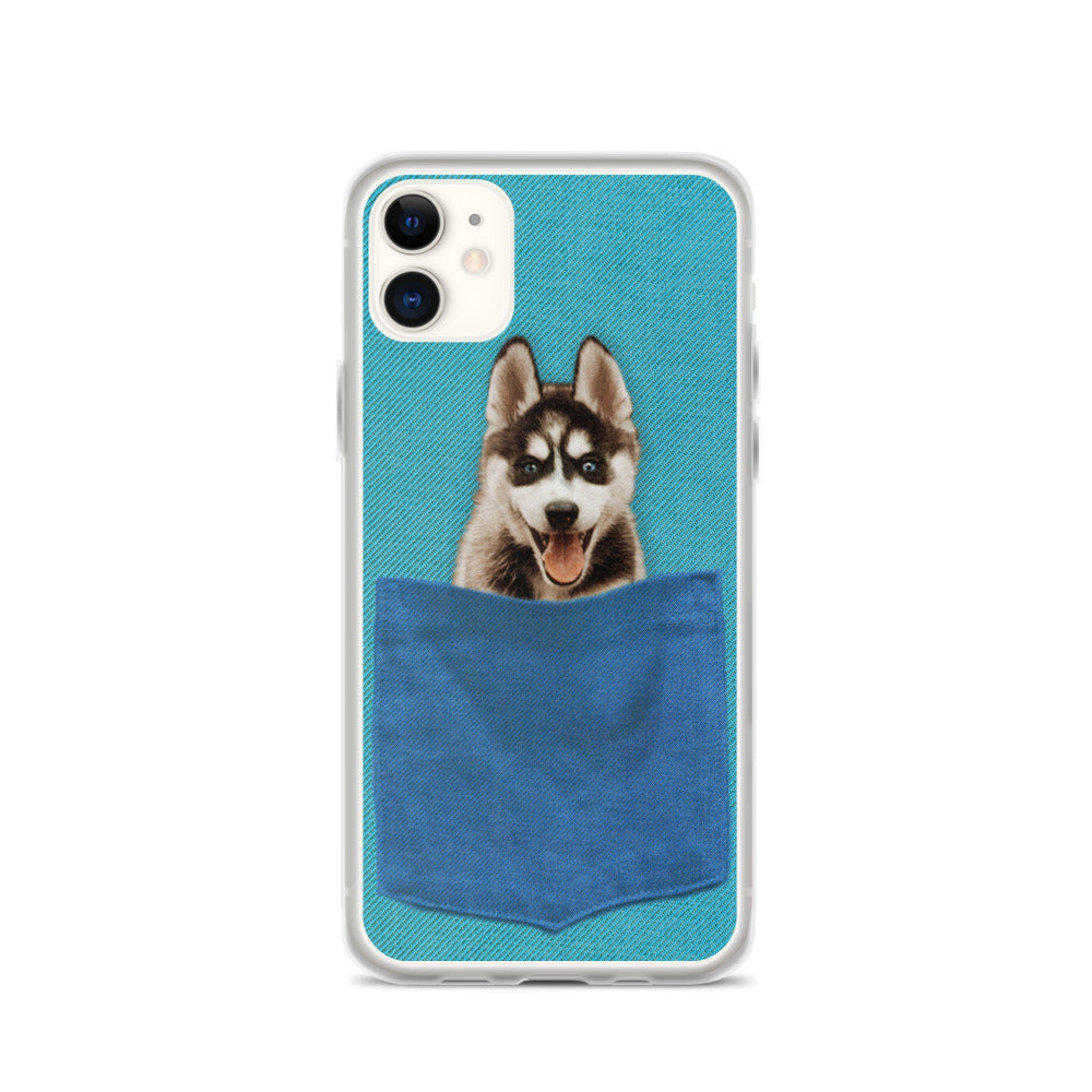 Blue Pocket - Custom iPhone Case