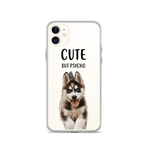 Cute But Psycho  - Custom Pet iPhone Case