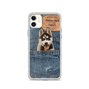 Denim Pocket - Custom iPhone Case