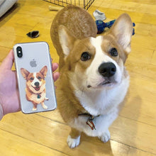 Load image into Gallery viewer, Plain - Custom Pet iPhone Case
