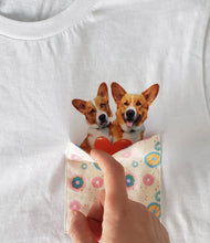 Load image into Gallery viewer, REAL Pocket T-Shirt