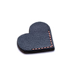 Corner Bookmark - Heart - Blue