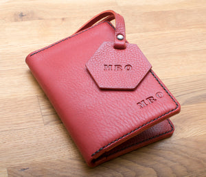 Passport Wallet and Luggage Tag - Any Colour