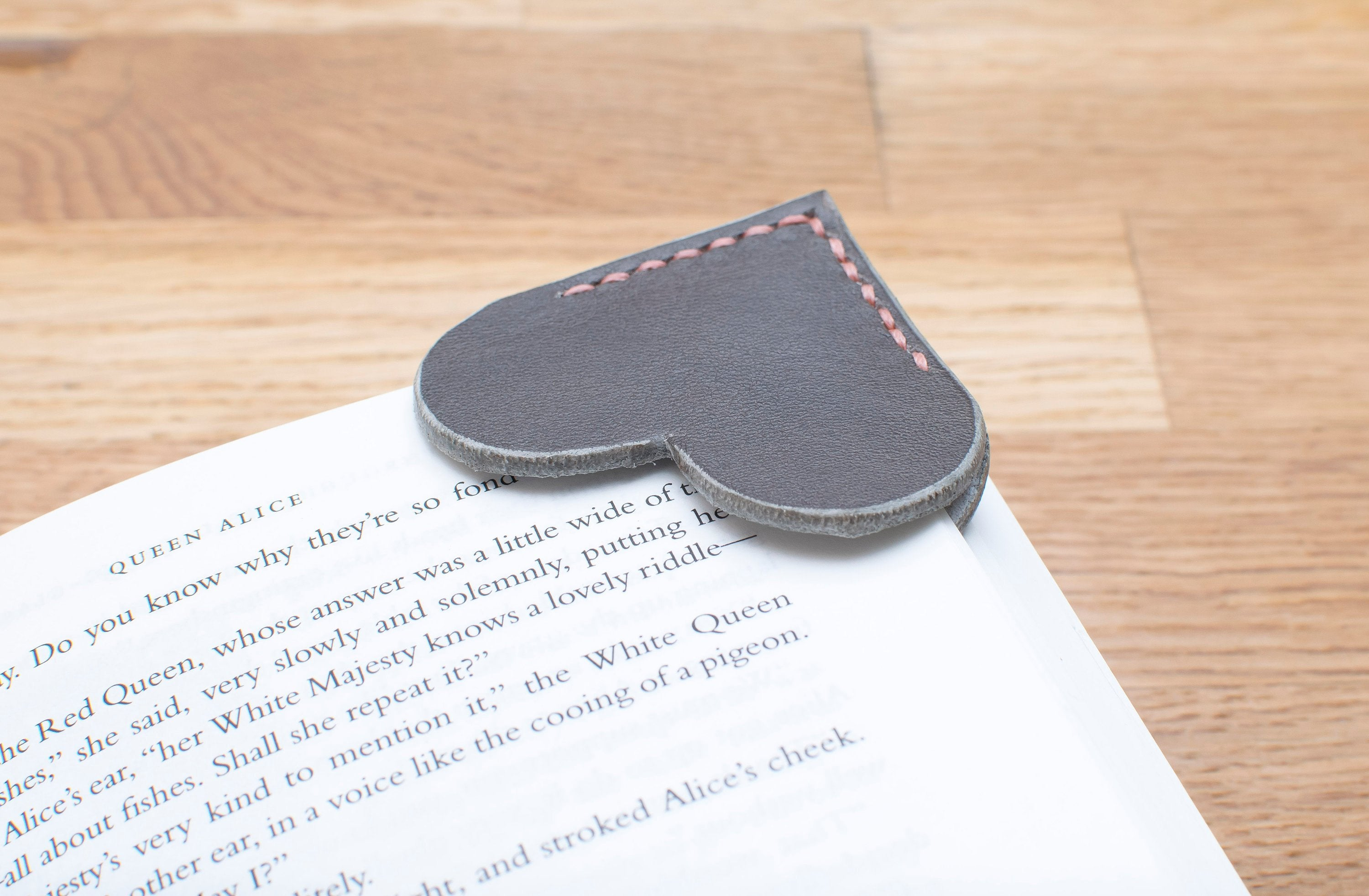 Corner Bookmark - Heart - Any Colour