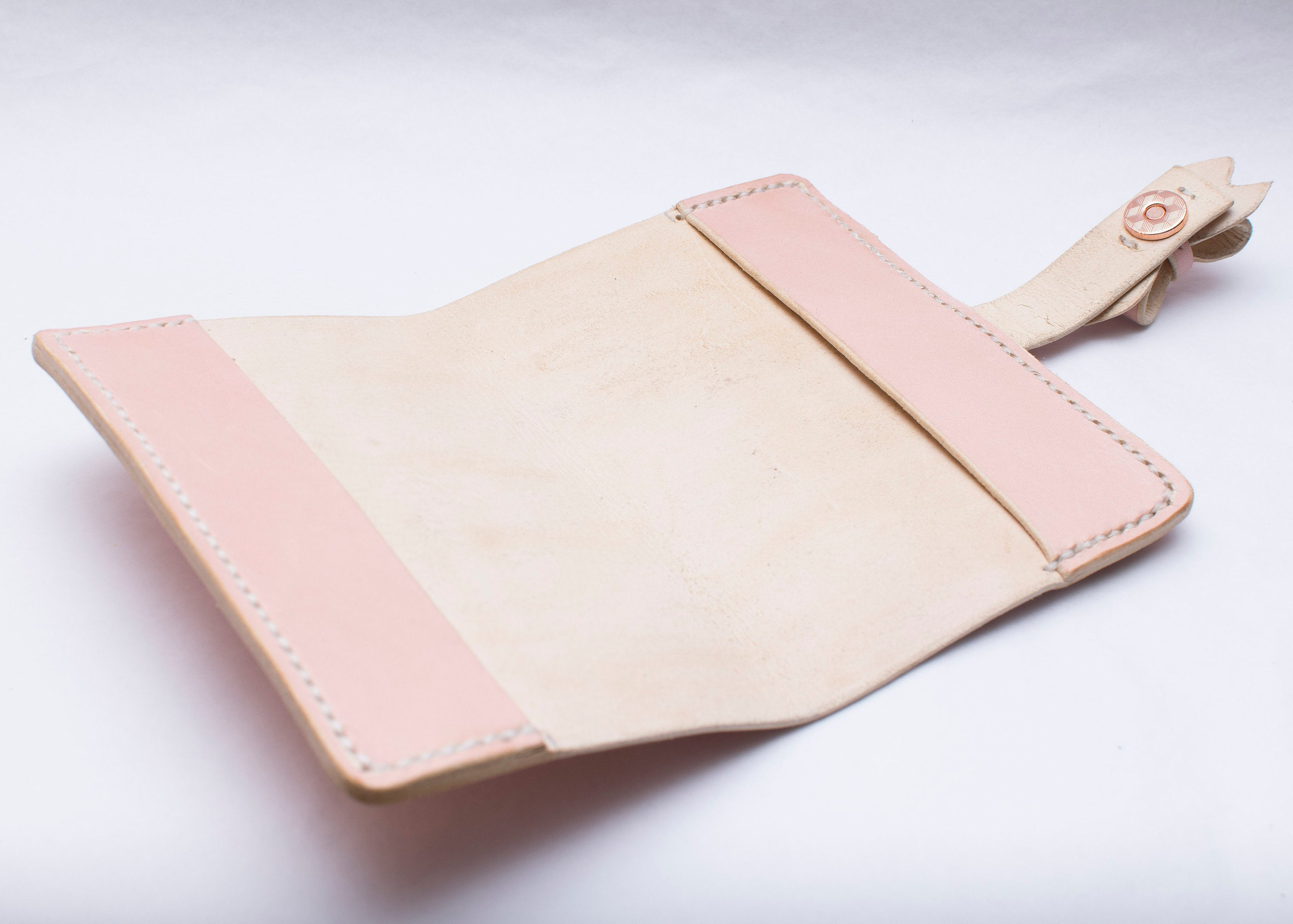 Passport Cover with Bow Fastening and Luggage Tag - Any Colour