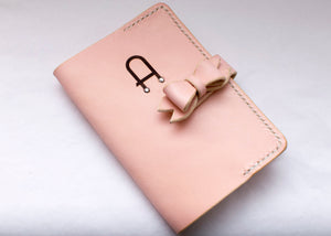 Passport Cover with Bow Fastening - Any Colour