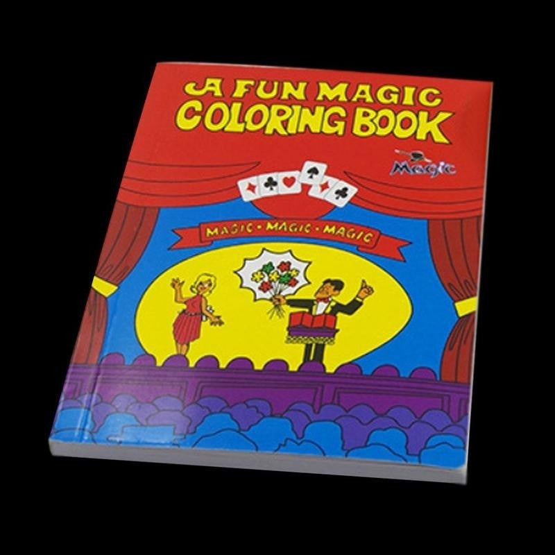 HOT New Coloring Cartoon Book Magic Books Children Magic Props Learning  Painting Book
