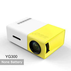 AAO YG300 YG310 Mini Portable LED Mini Projector Home Theater Game Beamer Video
