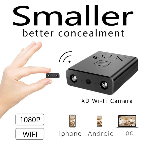 The Newest HD1080P Mini Wifi Camera Infrared Night Vision
