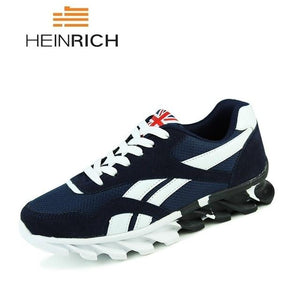Men Casual Shoes Breathable Mesh Trainers Sneakers Men
